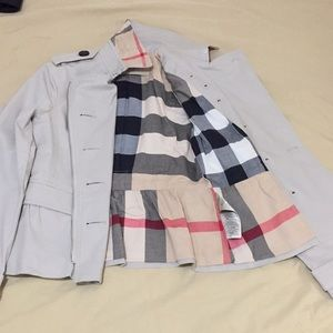 Authentic Burberry woman spring jacket